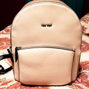 NWOT: Nine West Charmeine Color Block Backpack
